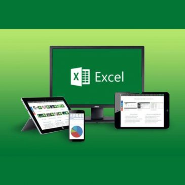 Microsoft Excel shown on different devices