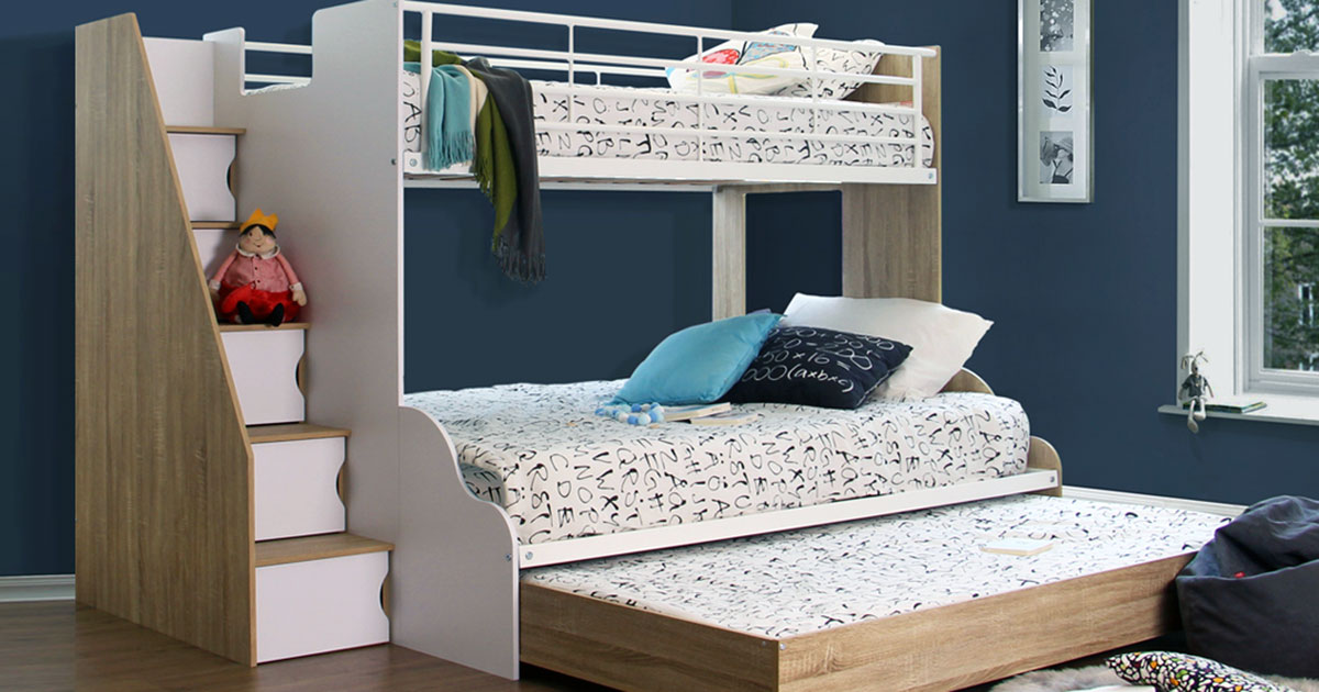 Picture of: Cool Bunk Bed Ideas For Small Rooms Office Organiser