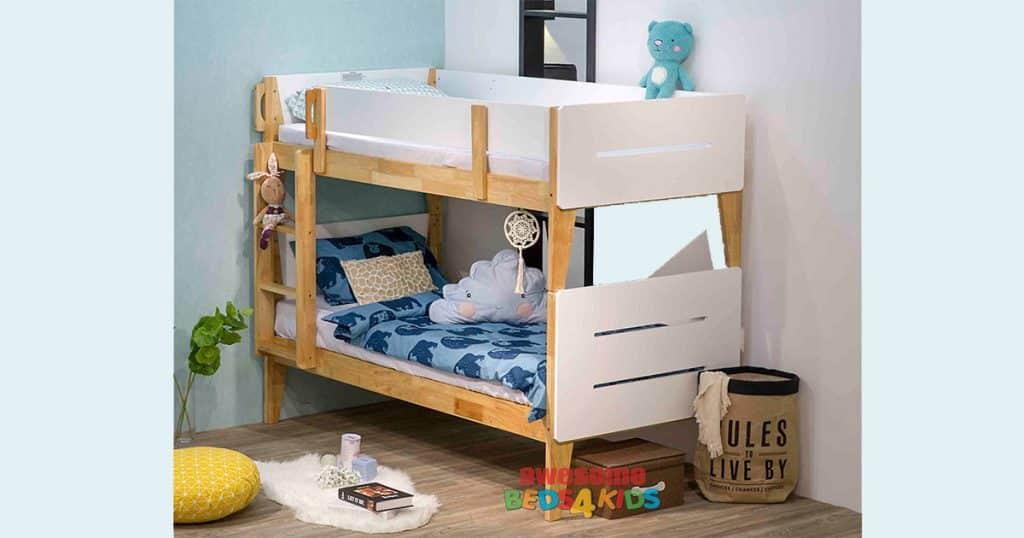 Single parallel bunk bed
