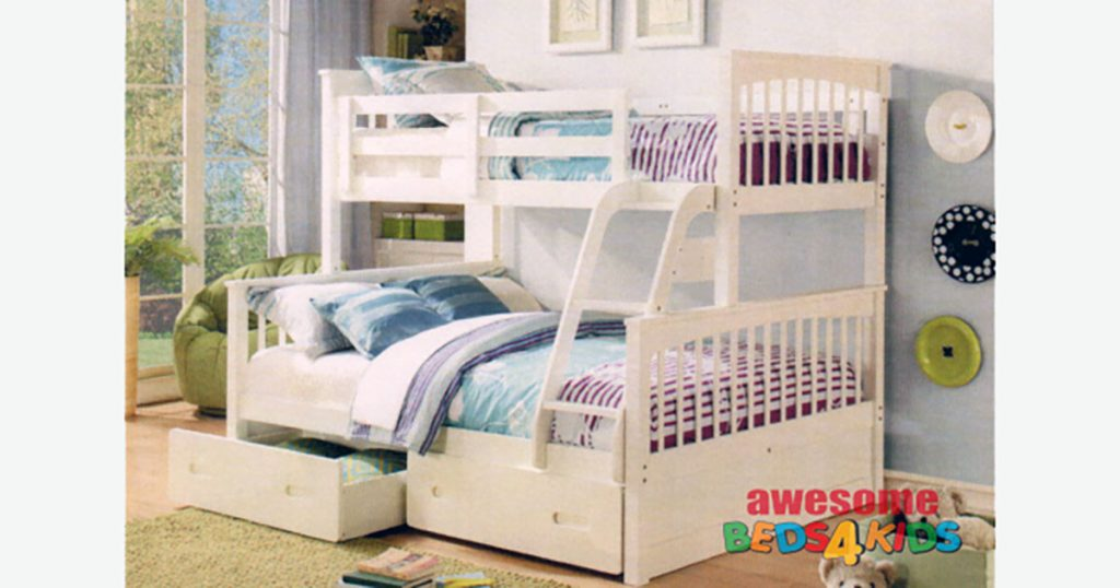 Single over double bunks