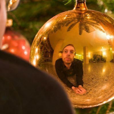 Xmas reflection